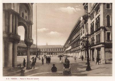 Пьяццетта Леончини в Венеции. Ricordo Di Venezia, 1913 год.