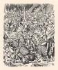 Вскоре по всему лесу солдаты валялись кучами (иллюстрация Джона Тенниела к книге Льюиса Кэрролла «Алиса в Зазеркалье», выпущенной в Лондоне в 1870 году)