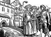 Португальская крепость в Индии. Иллюстрация Йорга Бреу Старшего к описанию путешествия на восток Лодовико ди Вартема: Ludovico Vartoman / Die Ritterliche Reise. Издал Johann Miller, Аугсбург, 1515