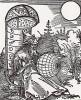 Альбрехт Дюрер. Титульный лист латинского перевода труда еврейского астролога и астронома Мессалы (740--815 гг.) De scientia motus orbis, изданного в 1504 году