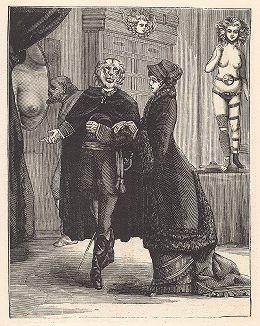 """Второй лист серии """"Бельфорский лев"""" Макса Эрнста, входящей в роман-коллаж """"Une Semaine de bonté"""" (Неделя доброты), 1934 год."""