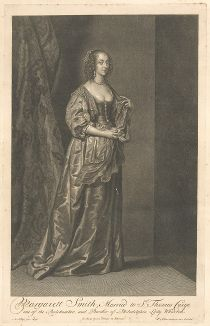 Маргарет Смит (ок. 1608-1663) кисти Антониса ван Дейка.