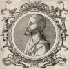 Ксенократ (396--314 гг. до н.э.) -- один из ближайших учеников Платона (лист 21 иллюстраций к известной работе Medicorum philosophorumque icones ex bibliotheca Johannis Sambuci, изданной в Антверпене в 1603 году)