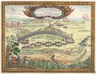 Первая Северная война 1655-60 гг. Победоносное для шведов сражение при Филипове 22 октября 1656 г. между польско-литовским войском (командующий - гетман Винцент Корвин Гонсевский) и шведской армией (командующий - граф Густав Отто Стенбок).