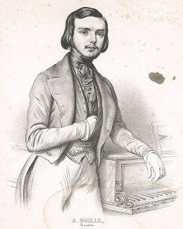 Александр Гориа (1823-1860) - французский пианист и композитор.
