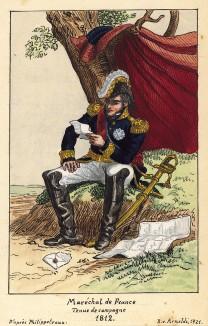 1812 г. Полевая форма маршала Франции времен Русской кампании Наполеона. Коллекция Роберта фон Арнольди. Германия, 1911-28