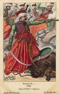 1807 г. Мамелюк. Коллекция Роберта фон Арнольди. Германия, 1911-28