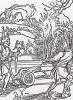 """Неисправимые дураки (иллюстрация к главе 8 книги Себастьяна Бранта """"Корабль дураков"""", гравированная Дюрером в 1494 году)"""