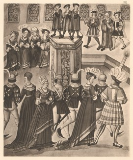 Из Freydal. Des Kaisers Maximilian I. Turniere und Mummereien (Репринт 1882 года. Вена. Лист 235)