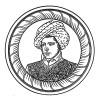 """Рустам Раза (1782—1845) — армянин по национальности, мамелюк, телохранитель и оруженосец императора Наполеона. Илл. к пьесе С.Гитри """"Наполеон"""", Париж, 1955"""