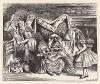 Посредине на колченогом табурете сидела Герцогиня и качала младенца (иллюстрация Джона Тенниела к книге Льюиса Кэрролла «Алиса в Стране Чудес», выпущенной в Лондоне в 1870 году)