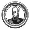 "Русский император Александр I. Илл. к пьесе С.Гитри ""Наполеон"", Париж, 1955"