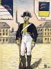 1803-06 гг. Солдат лейб-гренадерского полка Великого герцогства Баден. Коллекция Роберта фон Арнольди. Германия, 1911-29