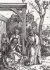 Отпущение Богородицы (Соборование) (из Жития Богородицы Альбрехта Дюрера)