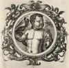 Аполлон (лист 2 иллюстраций к известной работе Medicorum philosophorumque icones ex bibliotheca Johannis Sambuci, изданной в Антверпене в 1603 году)