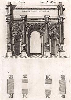 Триумфальная арка Септимия Севера.