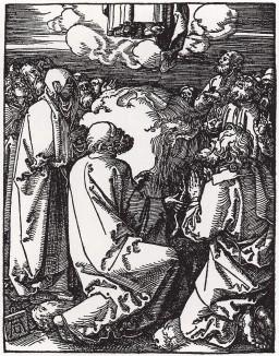 """Вознесение Христово (из Малых страстей """"на дереве"""" Альбрехта Дюрера)"""