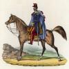 Герцог Анри Орлеанский, он же герцог Омальский (1822--1897) -- герой кампании в Северной Африке (иллюстрация к L'Africa francese... - хронике французских колониальных захватов в Северной Африке, изданной во Флоренции в 1846 году)