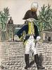 1803-06 гг. Офицер лейб-гренадерского полка Великого герцогства Баден. Коллекция Роберта фон Арнольди. Германия, 1911-29