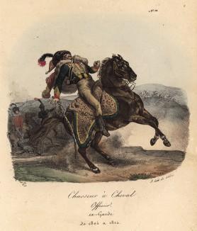 Смерть французского конного егеря (лист 70)