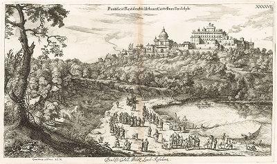 Летняя папская резиденция в Кастель-Гандольфо.
