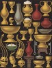 Предметы повседневного быта из золота в средневековой Франции (из Les arts somptuaires... Париж. 1858 год)