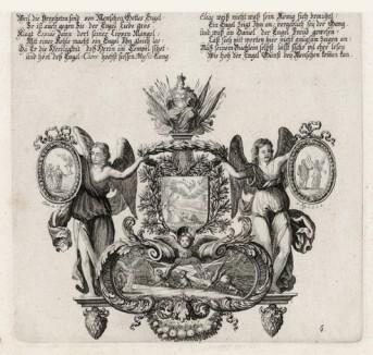 Пророк Даниил (из Biblisches Engel- und Kunstwerk -- шедевра германского барокко. Гравировал неподражаемый Иоганн Ульрих Краусс в Аугсбурге в 1694 году)