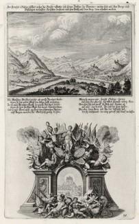 1. Пророк Авдий 2. Пророчество Авдия (из Biblisches Engel- und Kunstwerk -- шедевра германского барокко. Гравировал неподражаемый Иоганн Ульрих Краусс в Аугсбурге в 1700 году)