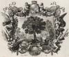 Ахиор у источника на пути в Ветилую (из Biblisches Engel- und Kunstwerk -- шедевра германского барокко. Гравировал неподражаемый Иоганн Ульрих Краусс в Аугсбурге в 1694 году)