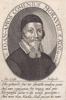 Ян Амос Коменский (1592-1670) - чешский гуманист и основоположник научной педагогики, а также епископ Чешскобратской церкви.