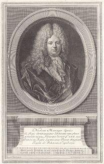 Николя Менаж (1658--1714) - французский дипломат, адвокат и коммерсант. Один из уполномоченных представителей для подписания Утрехтского мирного договора в 1713 году.