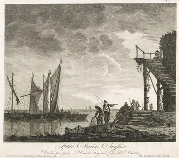 Рыбацкий порт в Англии.