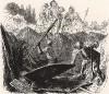 Виньетка к поэме «Стоик». В этой поэме Фридрих Великий рассуждает о бренности жизни, о преходящих славе и богатстве. Гравюра символически отображает суть этого меланхоличного произведения прусского короля: землекопы разоряют могилу героя прошлых лет.