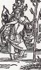 Альбрехт Дюрер. Святой Христофор (иллюстрация к Базельскому молитвеннику 1494 года)