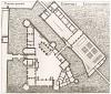 Замок Шантийи. Архитектурный план зданий. Androuet du Cerceau. Les plus excellents bâtiments de France. Париж, 1579. Репринт 1870 г.