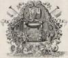 Пир у Авимелеха (из Biblisches Engel- und Kunstwerk -- шедевра германского барокко. Гравировал неподражаемый Иоганн Ульрих Краусс в Аугсбурге в 1700 году)
