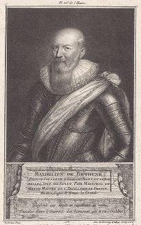 Максимильен де Бетюн, барон Рони, 1-й герцог де Сюлли (1560--1641) - маршал Франции, один из руководителей гугенотов, полководец и политик, глава французского правительства при короле Генрихе IV Наваррском.