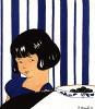 Реклама шоколада фабрики Klaus, основанной в 1884 году французским кондитером швейцарского происхождения Жаком Клаусом. Иллюстрация Р.Брюнеля в технике пошуар. Les feuillets d'art. Париж, 1920
