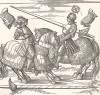 Гравюра Дюрера для Freydal. Des Kaisers Maximilian I. Turniere und Mummereien (Репринт 1882 г. Вена)