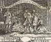 Входной билет на бенефис Уолкера в «Опере нищего» Джона Гея, поставленной в королевском театре «Ковент Гарден». Изображена одна из сцен этой популярной оперы-баллады. Рисунок В.Хогарта, гравировал Дж.Симпсон. Лондон, 1838