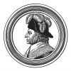 """Эммануэль-Жозеф Сийес (1748-1836) — священник поневоле, член Конвента (голосовал за казнь короля), президент Совета Пятисот, граф империи, президент Сената и член Французской Академии. Илл. к пьесе С.Гитри """"Наполеон"""", Париж, 1955"""