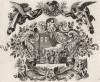Товит собирает пиршественный стол (из Biblisches Engel- und Kunstwerk -- шедевра германского барокко. Гравировал неподражаемый Иоганн Ульрих Краусс в Аугсбурге в 1694 году)