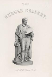 Уильям Тернер. Титульный лист альбома The Turner Gallery. Нью-Йорк, 1875