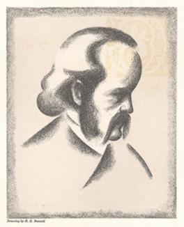 Капитан Эрик фон Эглофштайн -- пионер американской фотогравюры.