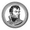 "Огюст Фредерик Луи Виесс де Мармон (1774—1852) — адъютант Наполеона, герцог Рагузский, маршал Франции. В 1814 году подписал договор о сдаче Парижа. С тех пор «Рагуза» во Франции - синоним «предателя». Илл. к пьесе С.Гитри Наполеон"", Париж, 1955"