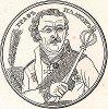 Граф Платов. Снимок с медали.