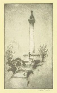 Монумент Вашингтона в Балтиморе.