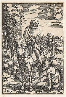 Чудо Святого Мартина. Ксилография Ганса Бальдунга Грина, ок. 1505 г.