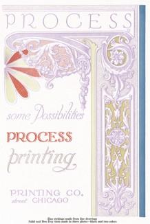 Обложка книги Spectro Process фирмы Mead-Grede Printing Co. Часть 2.