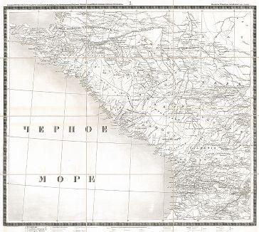 Карта театра войны в Азии 1826, 1827, 1828, 1829 и 1830 годов. Составлена и гравирована в Военно-топографическом депо в 1841 году. Часть I.